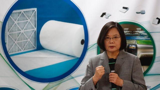 Presidenta de Taiwán Tsai Ing-wen