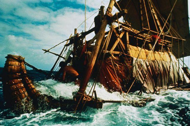 Ra I's voyage in 1969