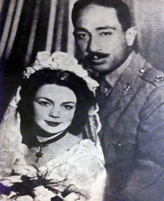 تزوج جوهان وأنور السادات عام 1949.