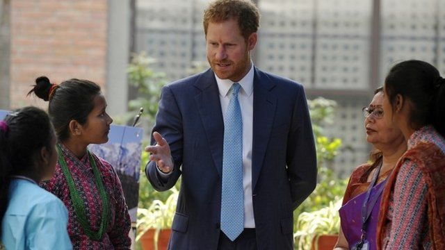 Prince Harry opens the Nepal Girl Summit 2016