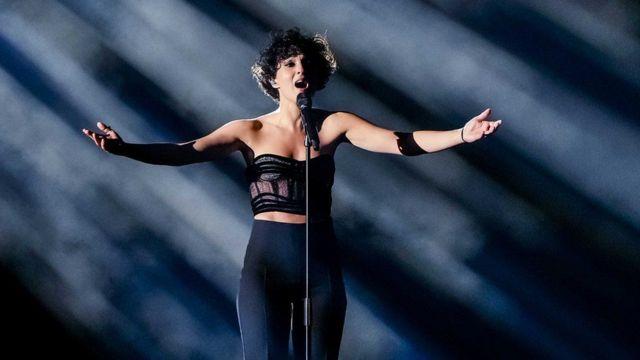 المغنية الفرنسية باربارا رافي حلت في المرتبة الثانية بعد إيطاليا