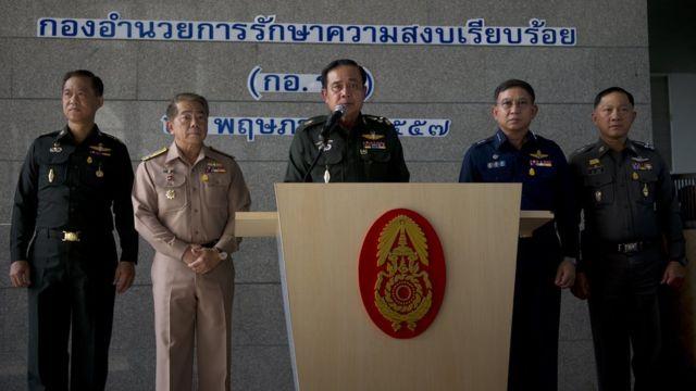 ผู้นำเหล่าทัพ,พล.อ.ประยุทธ์ จันทร์โอชา,รัฐประหารในไทย