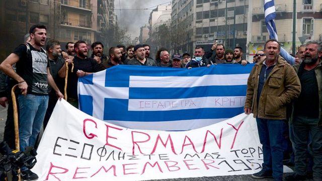 """AB'nin tasarruf programı Yunanistan'da """"dayatma"""" olarak görüldü ve tepki çekti."""