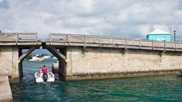 Puente Somerset en Bermuda