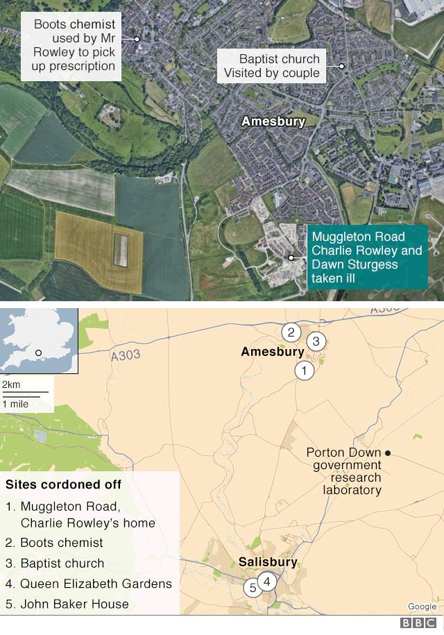amesbury map