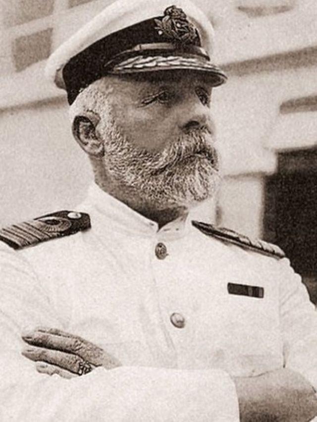 El capitán Edward J. Smith