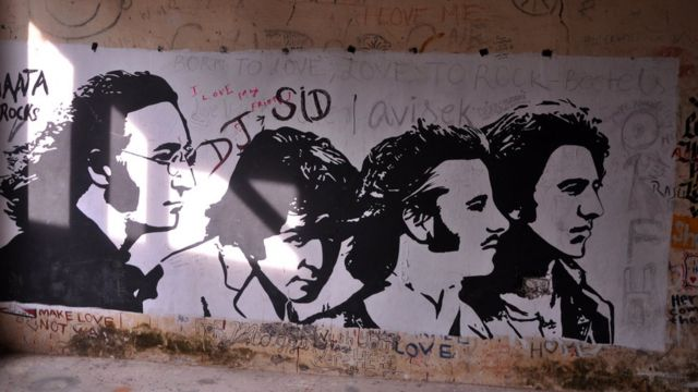 Graffiti de los Beatles