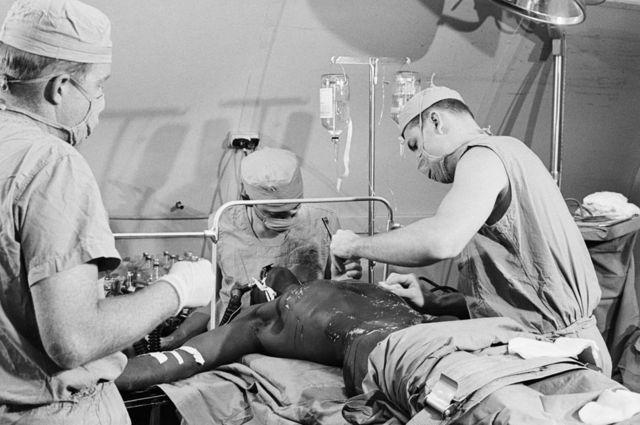 Una cirugía en 1969