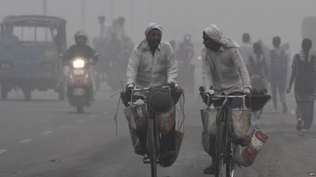 . New Delhi woke up to a choking blanket of smog on November 7 as air quality in the world's most polluted capital city reached hazardous levels.