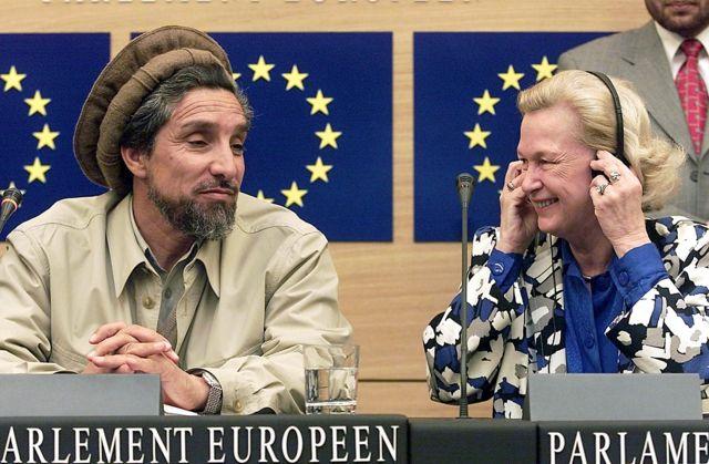 نیکول فانتین و احمد شاه مسعود