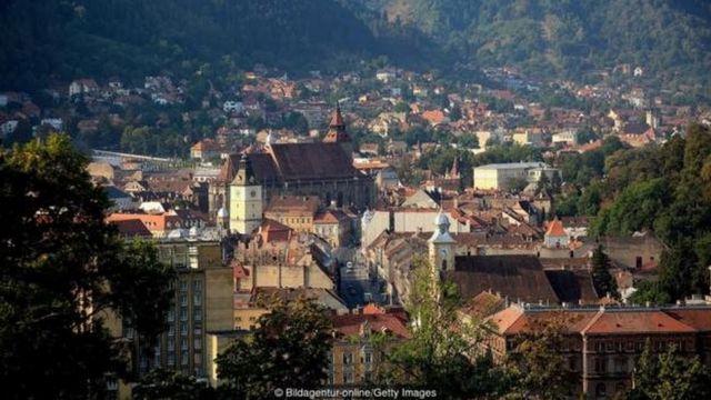 ट्रांसिल्वेनिया इलाक़े का एक बड़ा हिस्सा रोमानिया में