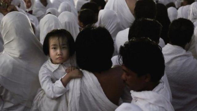 İndoneziyalı ata və uşaq