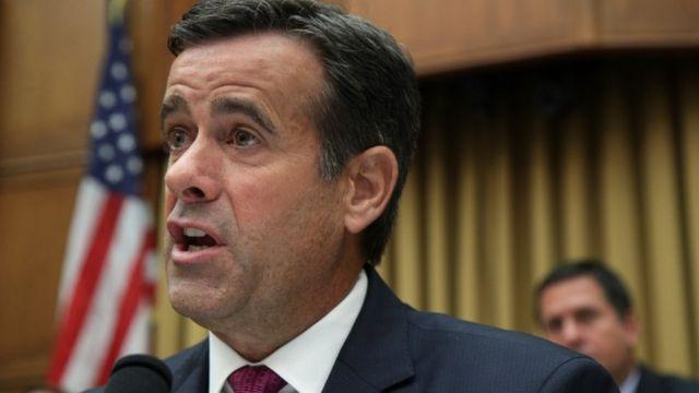 John Ratcliffe questions former special counsel Robert Mueller in Congress