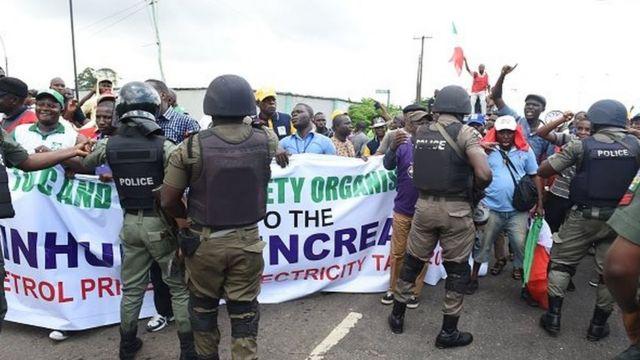 'Yan sandan kwantar da tarzoma na Nigeria