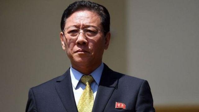 Đại sứ Kang Chol