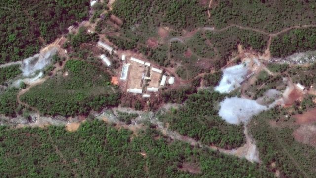 Punggye-r site in North Korea, 23 May 2018