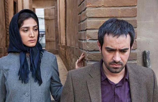 شهاب حسینی و مینا ساداتی در فیلم خانه پدری