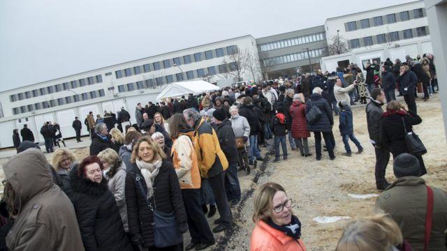 Migrantes en Berlín
