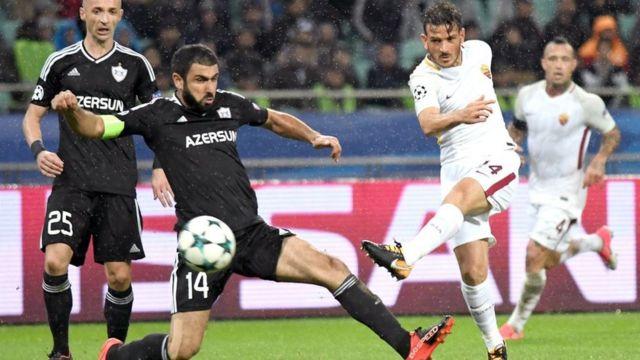 Qarabag vs Roma
