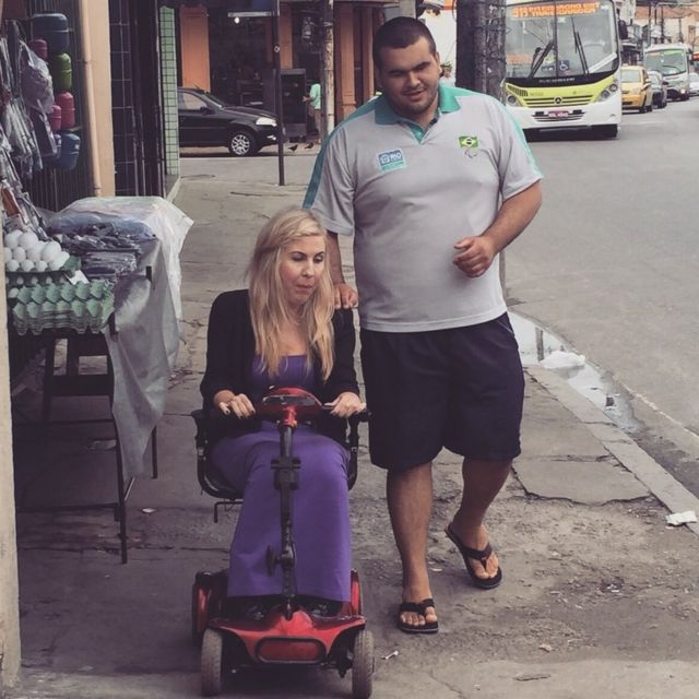 What's life like in Rio de Janeiro with a disability?