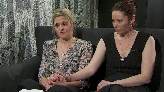Jen Phillips (left) and Hannah Whieldon