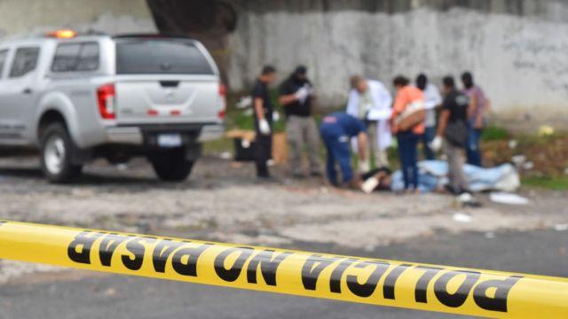 Muerte en El Salvador.