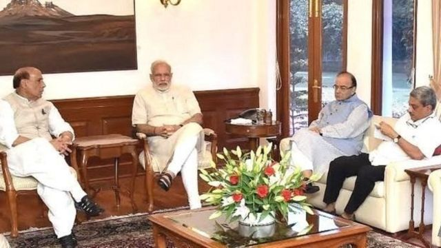 भारत सरकार के वरिष्ठ मंत्री