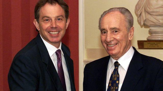ब्रिटेन के प्रधानमंत्री टोनी ब्लेयर के साथ
