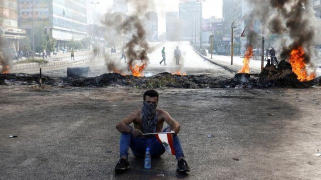 Pemrotes di Dora, Lebanon