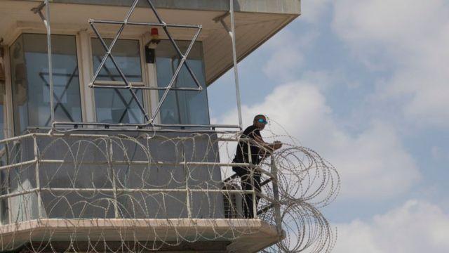 Prisión de Gilboa en el norte de Israel