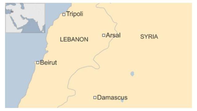 Ливан-Сирия ортосундагы Эрсал аймагы