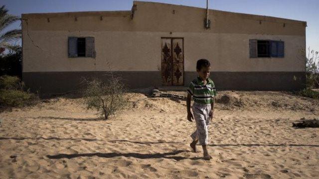 طفل من شمال سيناء
