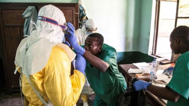Ebola na mba DR Congo