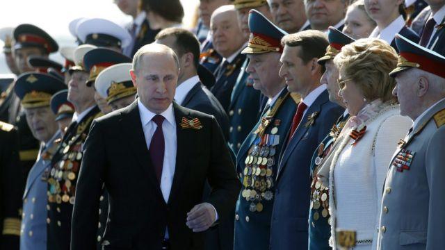 Los planes militares de Putin