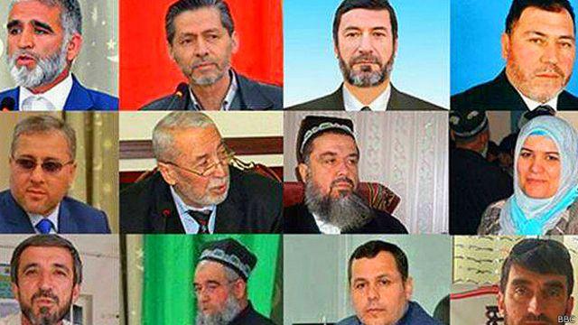 члены Исламской партии Таджикистана