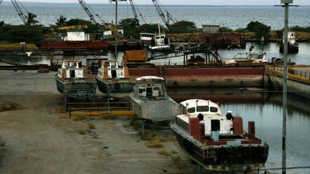 Barcos de PDVSA