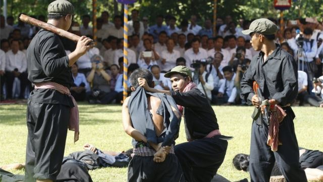 Cambodia re-enacts Khmer Rouge killings - in pictures