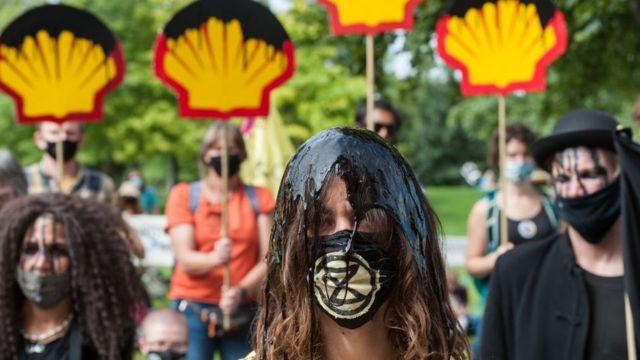 Protesto contra Shell