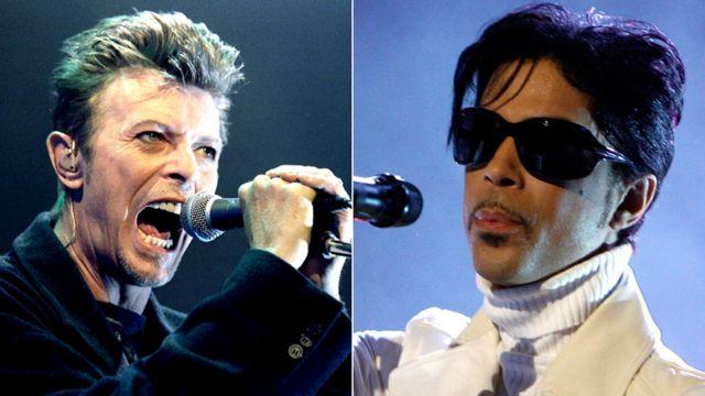 David Bowie və Prince