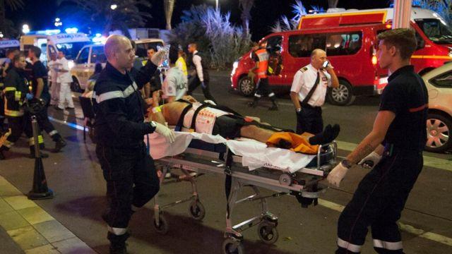 Раненый в Ницце