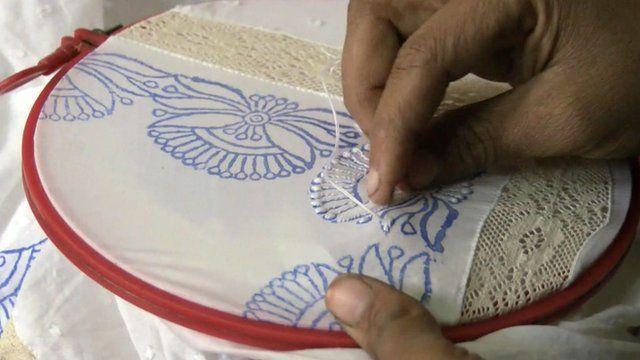 The craft of chikankari