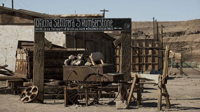 Humberstone Saltpeter Office