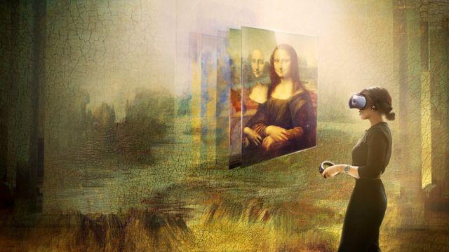 """Посетители выставки смогут посмотреть на картину """"Мона Лиза"""" благодаря технологии виртуальной реальности"""