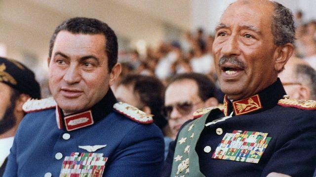 Мубарак і Садат