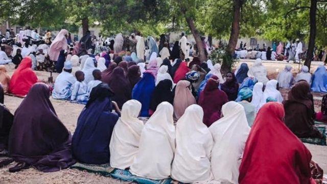 Eid Pishures from Kano as muslims dey celebrate Eid al Fitr