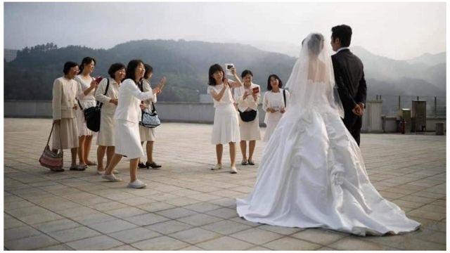 Đám cưới nữ sinh Việt với thanh niên Hàn (hình minh họa)