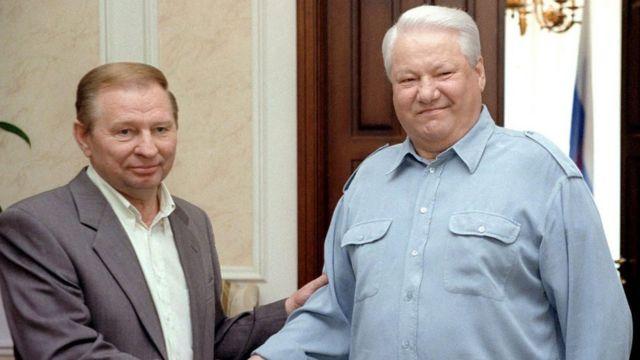 Кучма і Єльцин