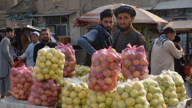 Mercado en Afganistán