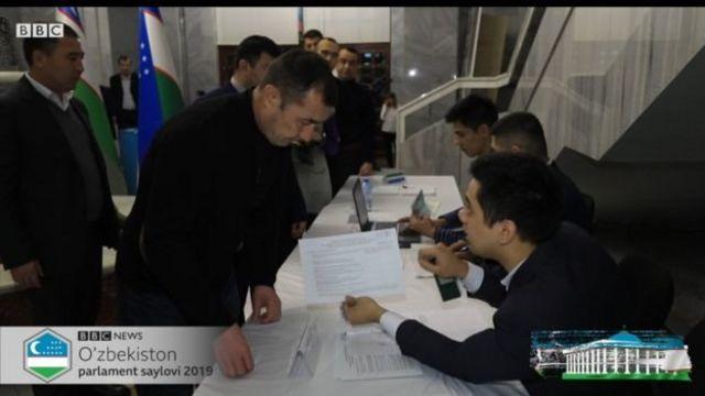 Өзбекстанда парламенттик шайлоо