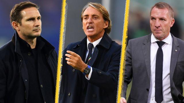 Frank Lampard, Roberto Mancini, Brendan Rodgers